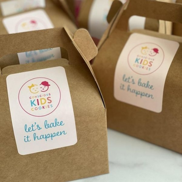 Assorted Box Specialty Cookies of Conscious Kids Cookies