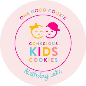 Birthday Cake of Conscious Kids Cookies