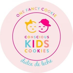One fancy cookie by Conscious Kids Cookies