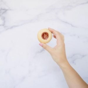 Jam and Strawberry Cookie by Conscious Kids Cookies