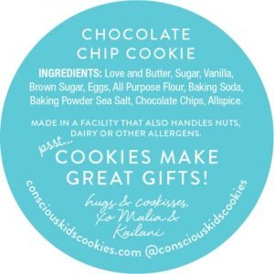 One Kind Cookie of Conscious Kids Cookies
