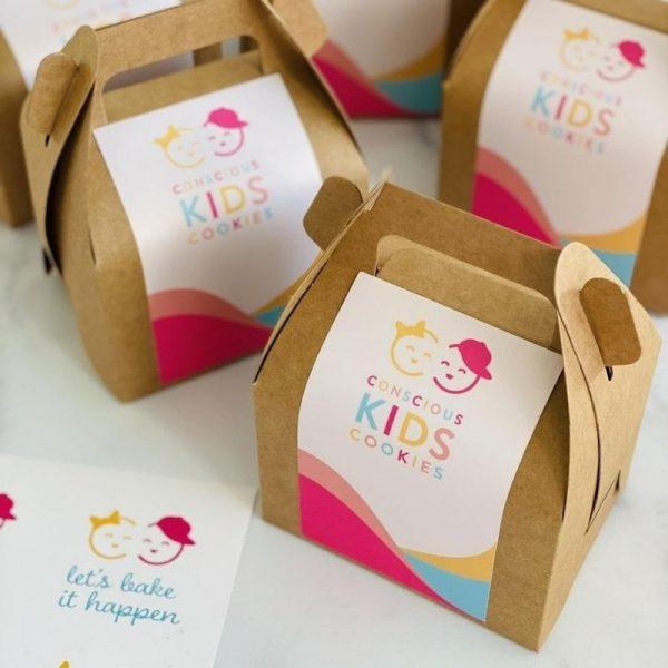 Conscious Kids Cookies' Mini Cookie Box