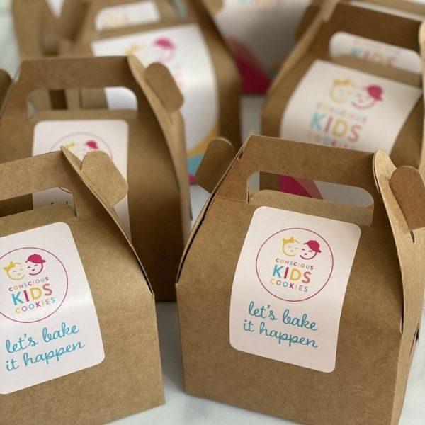 Mini Dozen Assorted Box by Conscious Kids Cookies