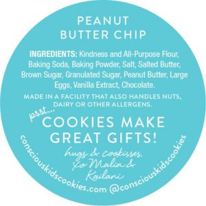 One Friendly Cookie by Conscious Kids Cookies