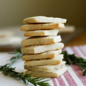 Rosemary Shortbread of Conscious Kids Cookies