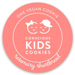 One Vegan Cookie of Conscious Kids Cookies