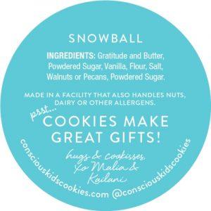 Conscious Kids Cookies' One Joyful Cookie