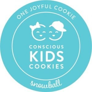 Conscious Kids Cookies' Snowball Cookie: One Joyful Cookie