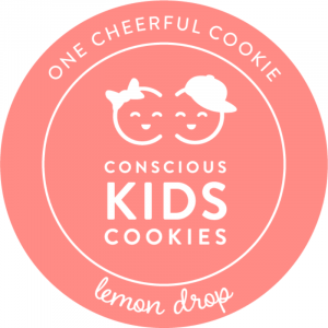 Ube Cookie: One Happy Cookie by Conscious Kids Cookies